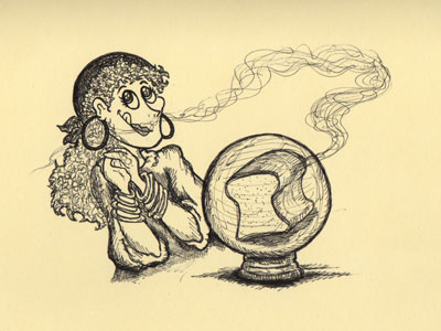Aroma Psychic Illustration