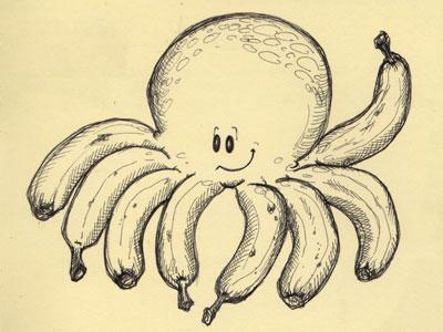 Banana Tentacles I