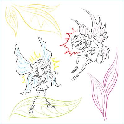 Fairy Rumble Illustration