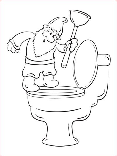 Toilet Gnome
