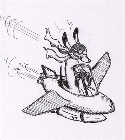 Dachshund Bombardier