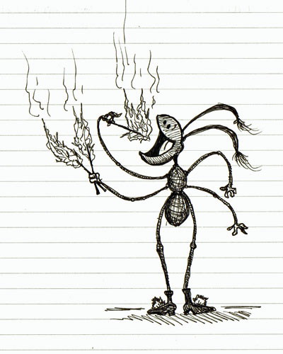 The Fire-Eating Ant of North Bay