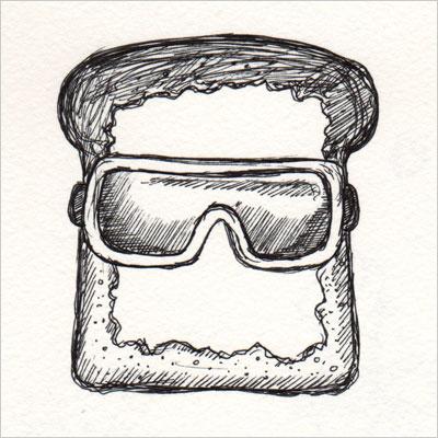 Goggle Toast