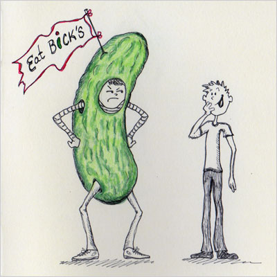 """Talk about being in a pickle."""