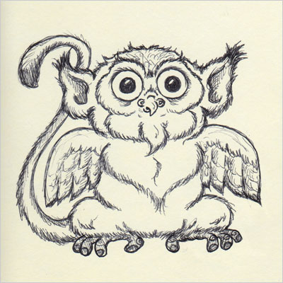 Monkowl or Owlkey