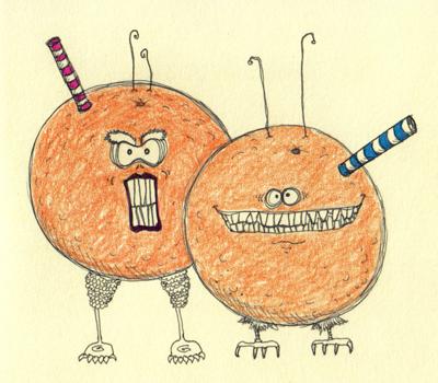 Alien Oranges