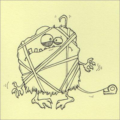 Tape Monster