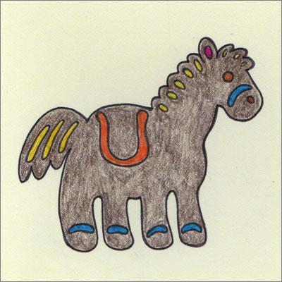 Mocha Horse