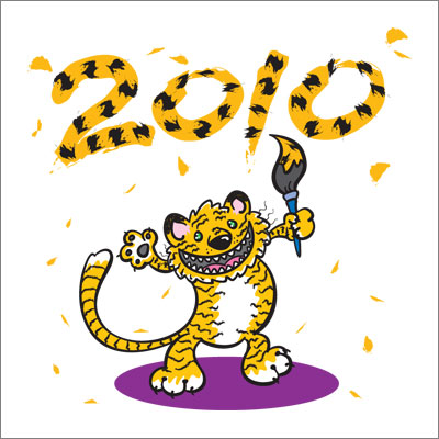 Here's to a grrrrreat 2010!