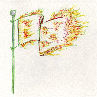 Flame Flap