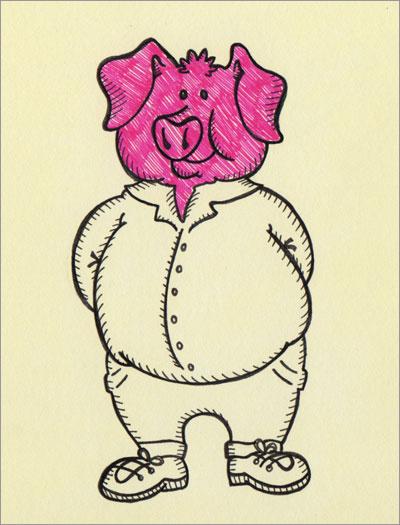 Pigheaded